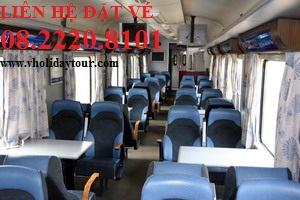 Bảng giá vé tàu SE22 đi Đà Nẵng - Huế tết 2015